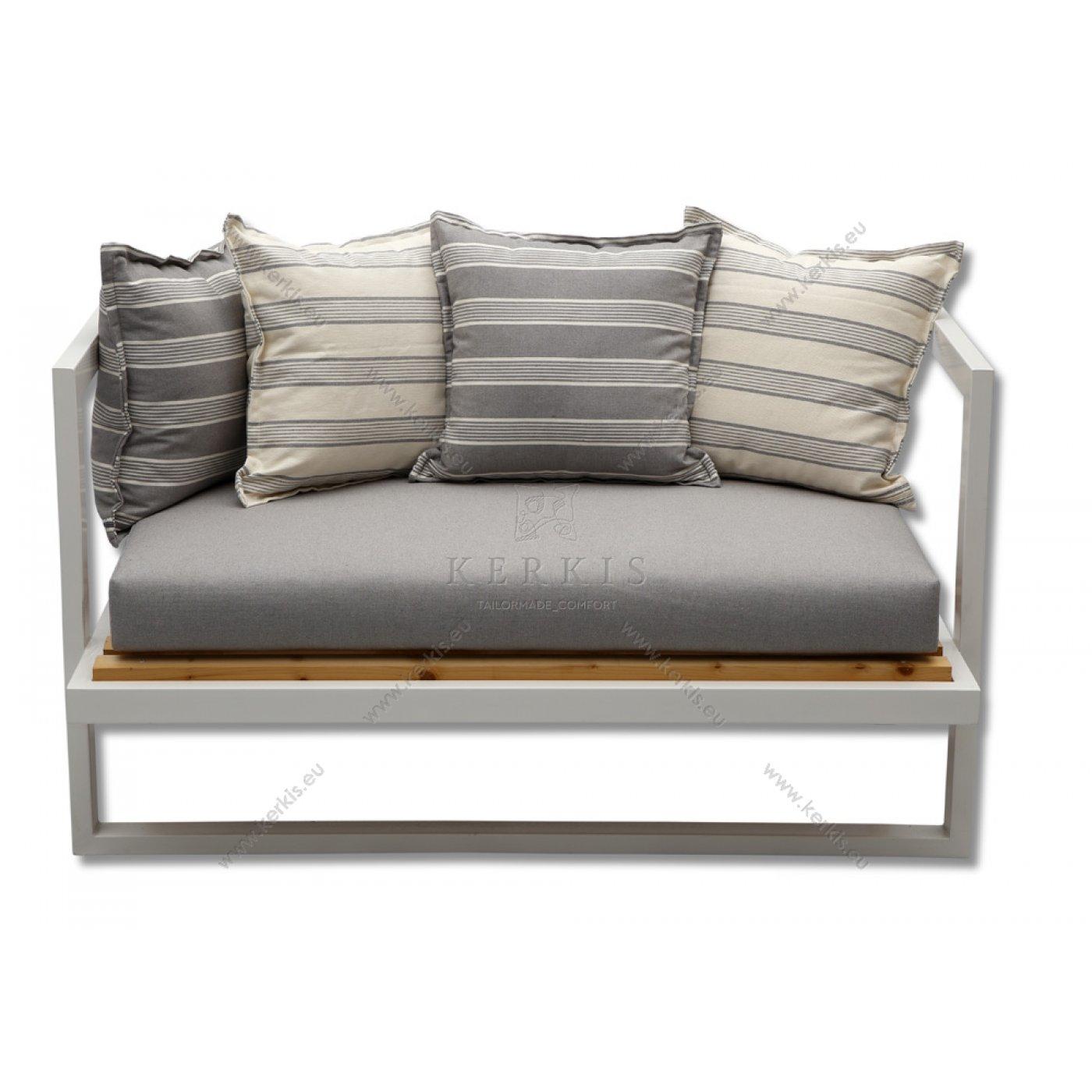 Μαξιλάρια καναπέ με βαμβακερά υφάσματα