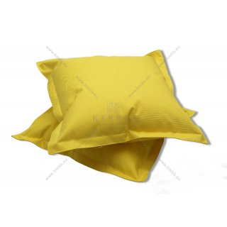 Μαξιλάρες παραλίας 70Χ70 σε κίτρινο χρώμα. Μπορούν να κατασκευαστούν σε ότι χρώμα επιλεξετε !
