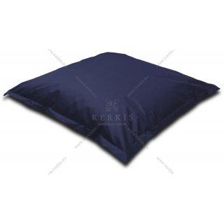 Μαξιλάρι - πουφ σε μπλε σκούρο χρώμα με διαστάσεις 1,50 Χ 1,50