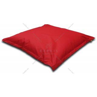 Μαξιλάρι παραλίας - πισίνας σε κόκκινο χρώμα με διαστάσεις 1,50 Χ 1,50