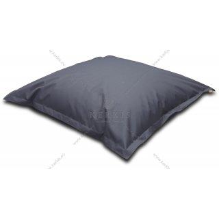 """Μία μαξιλάρα μεγάλων διαστάσεων για εσωτερικούς ή εσωτερικούς χώρους. Εμπνευστείτε ελεύθερα. Το Πουφ """"Δίας"""" ταιριάζει παντού!"""