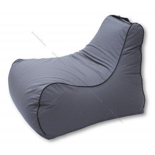 Πουφ Νηρέας Κάθισμα με στρογγυλεμένο τελείωμα και εξωτερική ραφή. Ιδανικό για εσωτερικό ή εξωτερικό χώρο