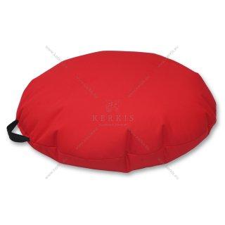 Πουφ Βότσαλο σε χρώμα Κόκκινο