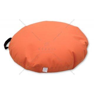 Πουφ Βότσαλο σε χρώμα Πορτοκαλί