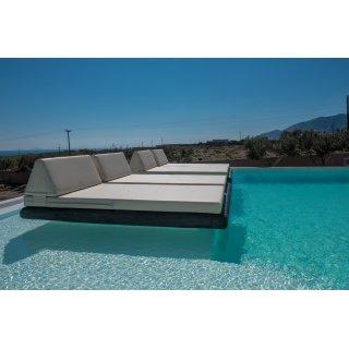 Στρώματα και κεφαλάρια για κρεβάτια πισίνας αδιάβροχα και ανεξίτηλα - day beds