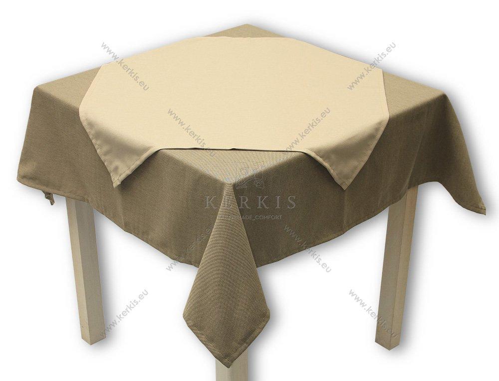 Μονόχρωμα τραπεζομάντηλα επαγγελματικής χρήσης, από την Kerkis Tailormade Comfort.