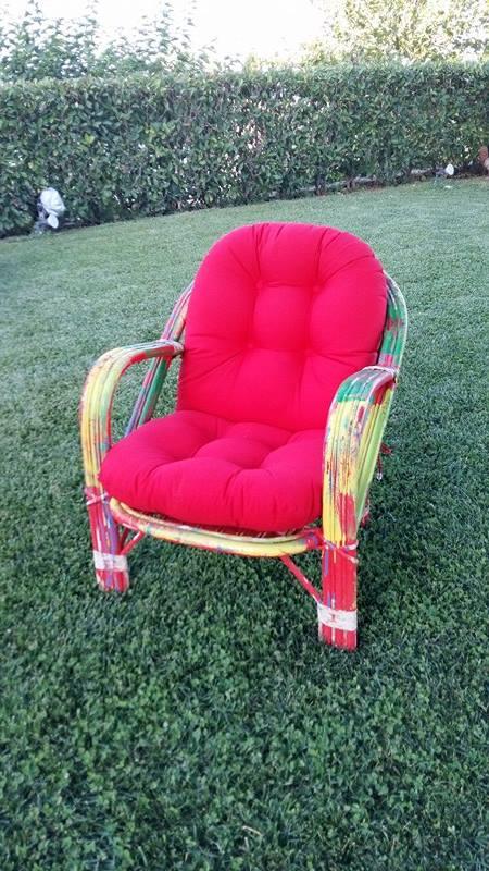 Μαξιλάρι καρέκλας μπαμπού